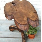 tree trunk table base stump wood log coffee accent tables end covers piece patio dining sets clearance rain drum low outdoor red corner barn ikea bunnings seating garden furniture 150x150