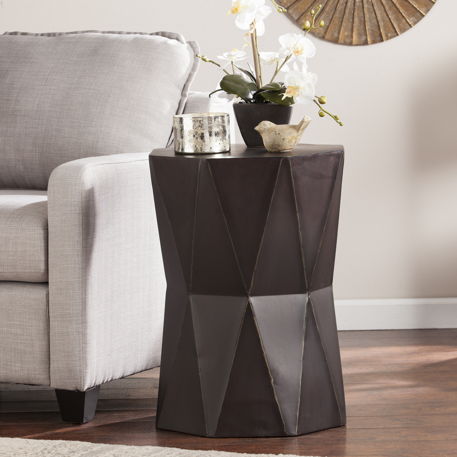 tremont accent table antique black living room orange lamp nautical bedroom furniture maritime pendant stand umbrella crystal and brass lamps ethan allen round end oval wood gray