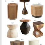 trend alert sculptural side tables room for tuesday img hourglass accent table plus darby geo burl thorntree acacia end west elm tripod floor lamp ethan allen dining and chairs 150x150