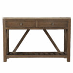 trent austin design benham console table sagel wrapped two drawer accent with drawers small round metal garden black wrought iron patio side vintage bedside nic tables marble top 150x150