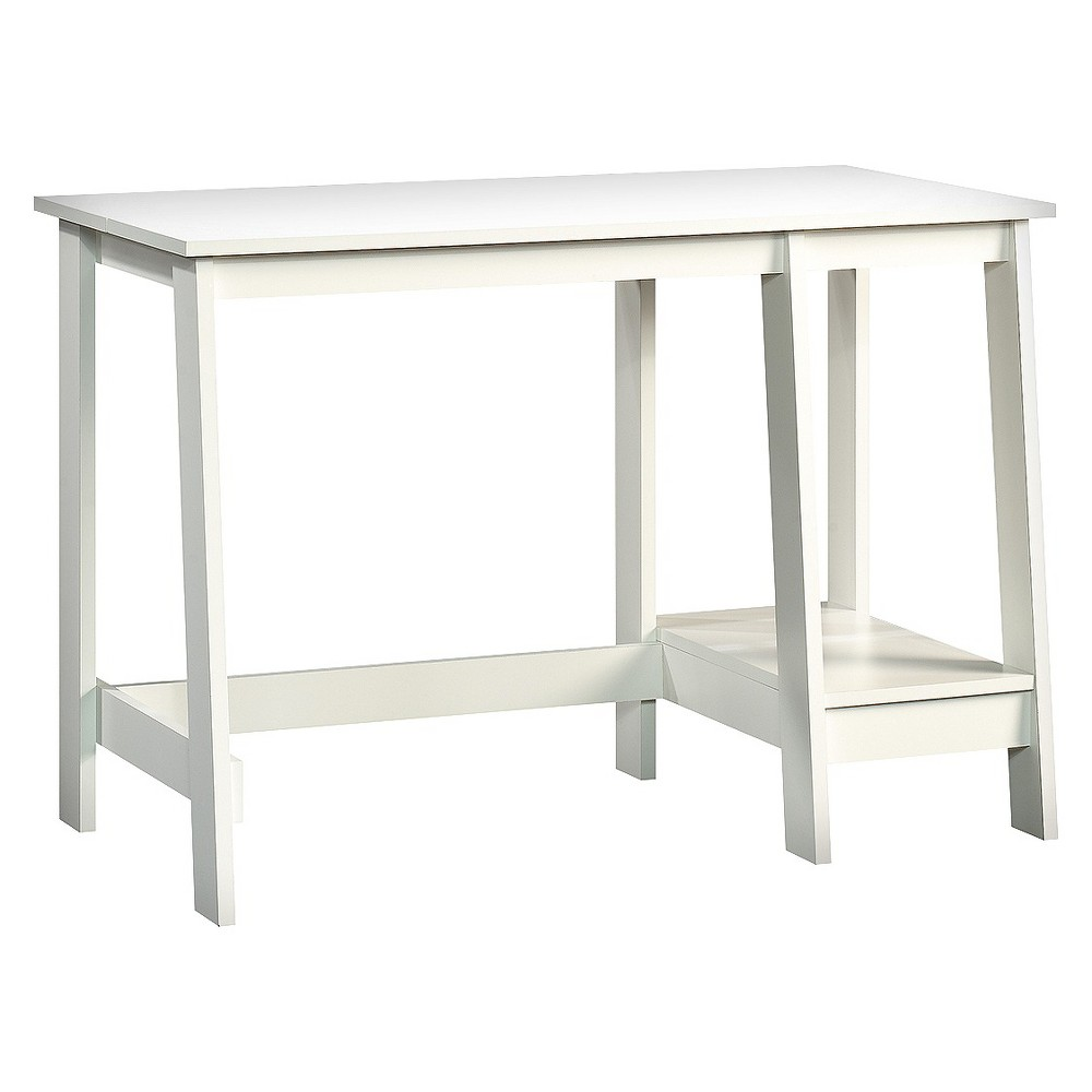 trestle desk white room essentials natural products accent table free fall runner quilt patterns bathroom caddy inch console outdoor living furniture tiny lamps folding patio side