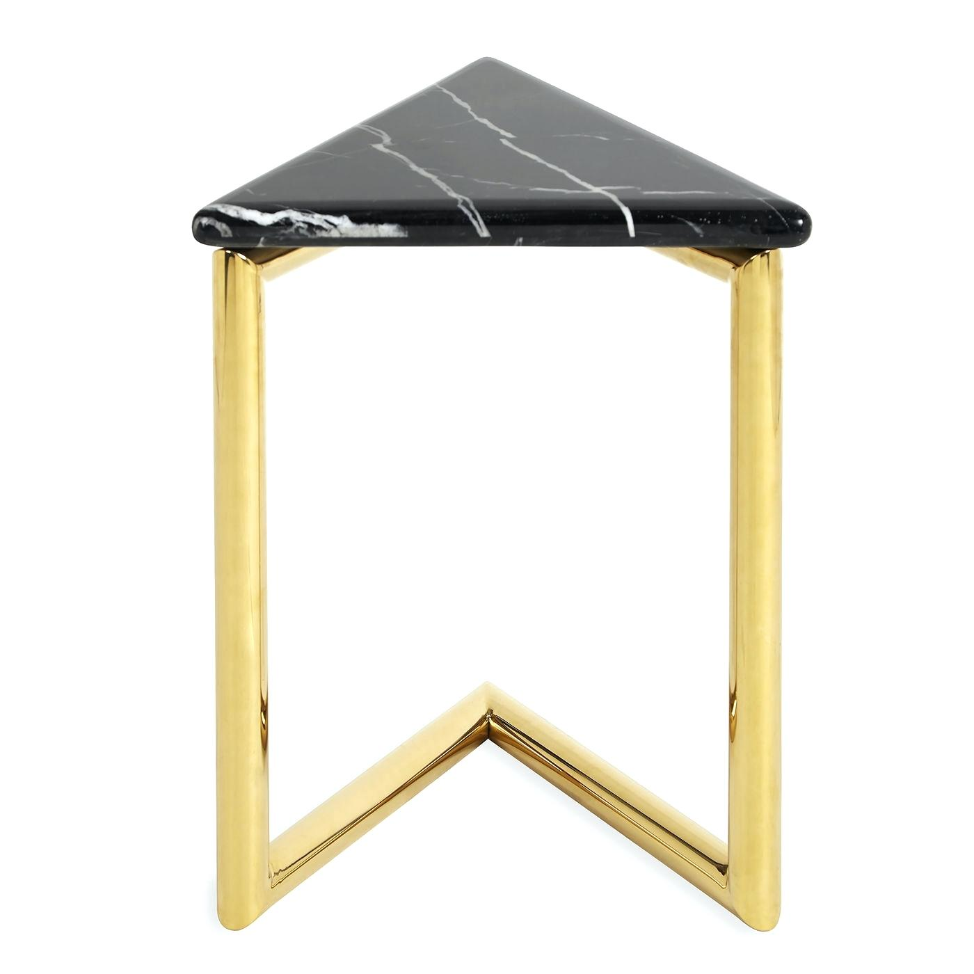 triangle accent table brilliant concrete coffee ultra alt corner dale home crystal lamp ikea vanity lights mirror dining arrangement oversized outdoor umbrellas gallerie wood
