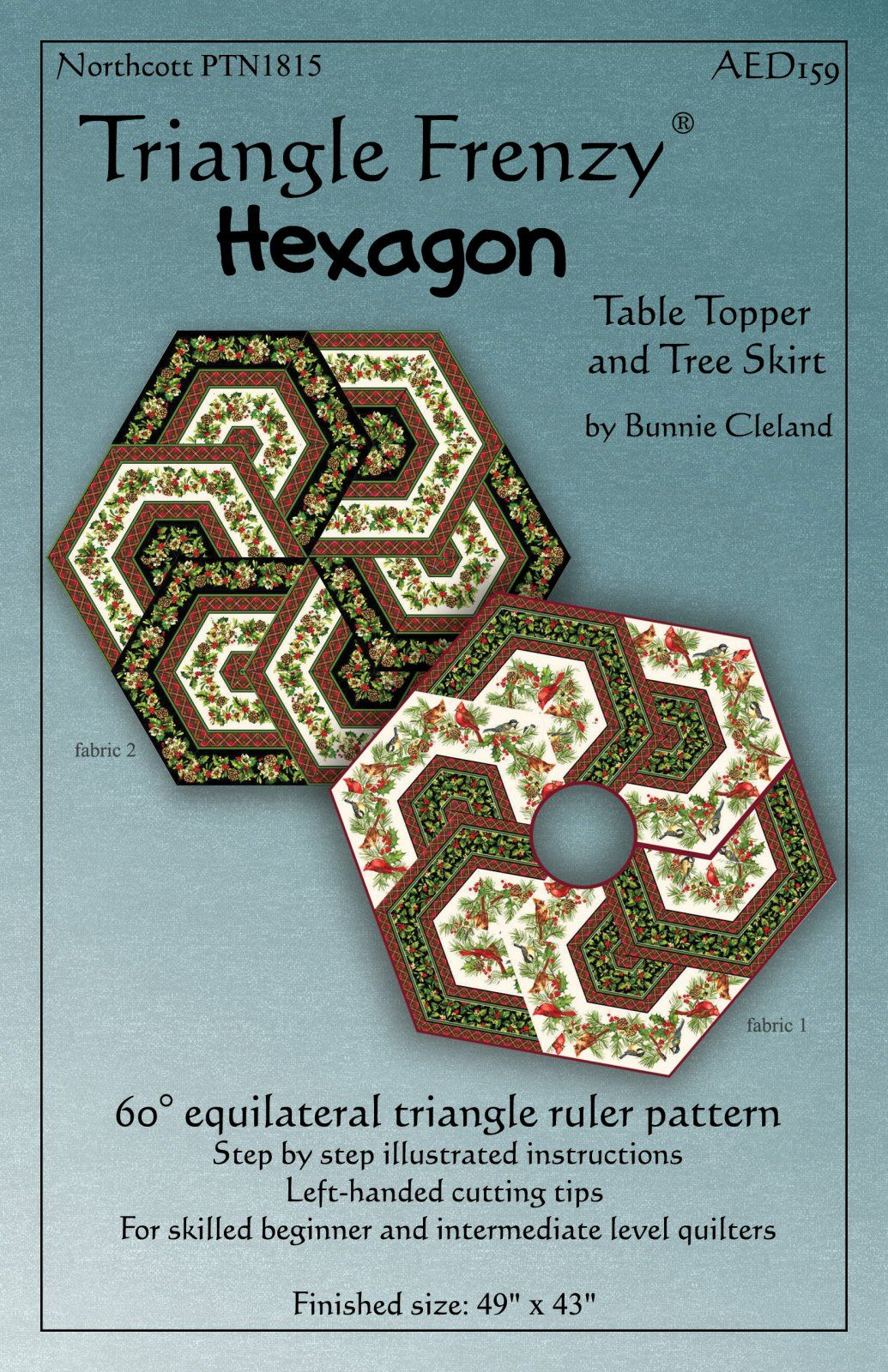triangle frenzy hexagon pattern quilts quilt accent your focus table runner and placemats quilted runners kaleidoscope corner console white folding side small tables for living