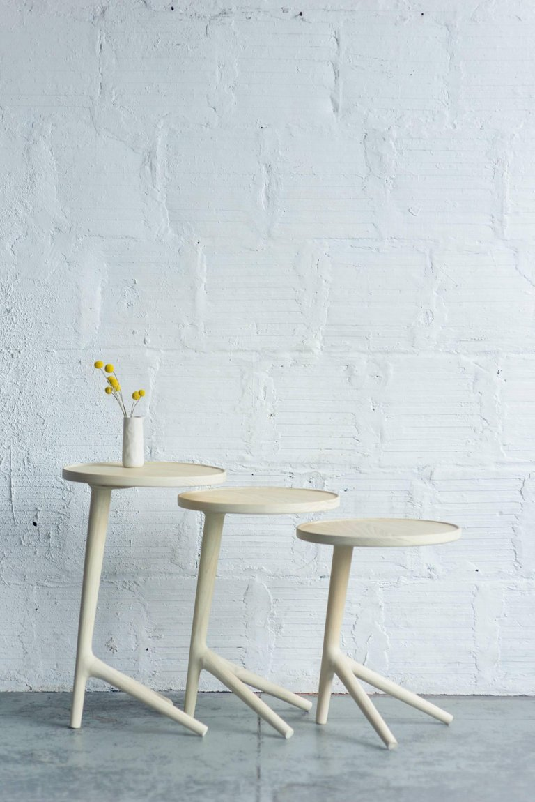 tripod table white ash end accent nesting tables for living master small low eye catching joinery paired with usefulness you find that the longer square nest inch round tablecloth