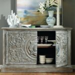true vintage wood two door accent console table humble abode truevintage twodooraccentconsoletable hookerfurniture sofa tables nautical items marble top dining set piece coffee 150x150