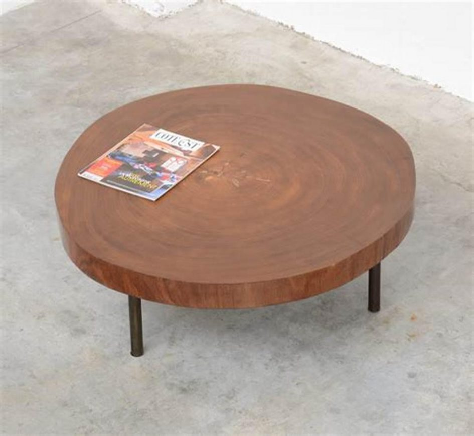 trunk coffee table and end tables cypress tree burl wood granite reclaimed stump copper top accent large size acrylic stacking wooden bedside cabinets living room center decor