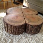 trunk coffee table and end tables cypress tree stump console wood small silver accent large size log luxury elegant patio couch set portable shade umbrella nautical nursery lamp 150x150