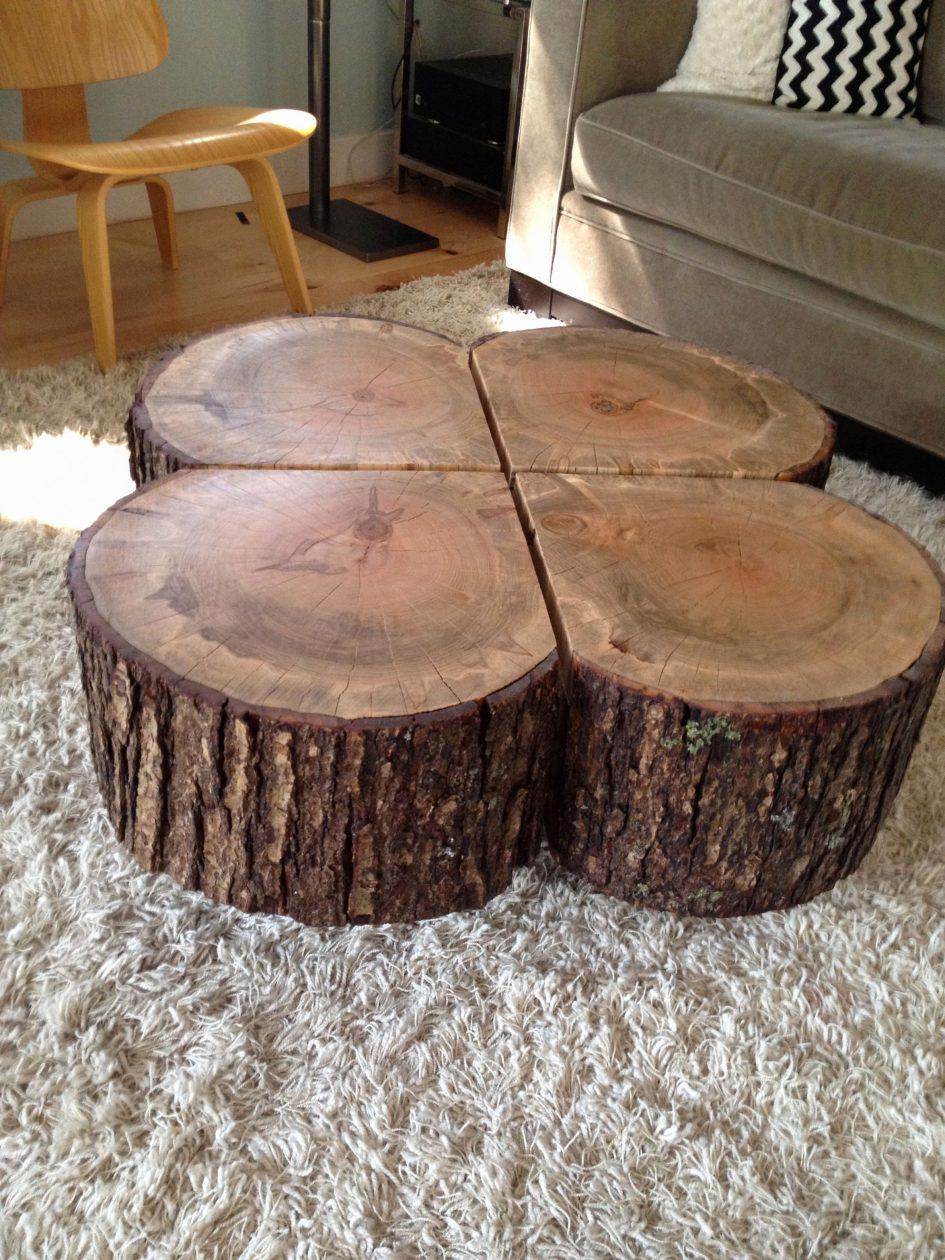trunk coffee table and end tables cypress tree stump console wood small silver log accent large size luxury elegant long farm beautiful bedroom sets modern occasional used side