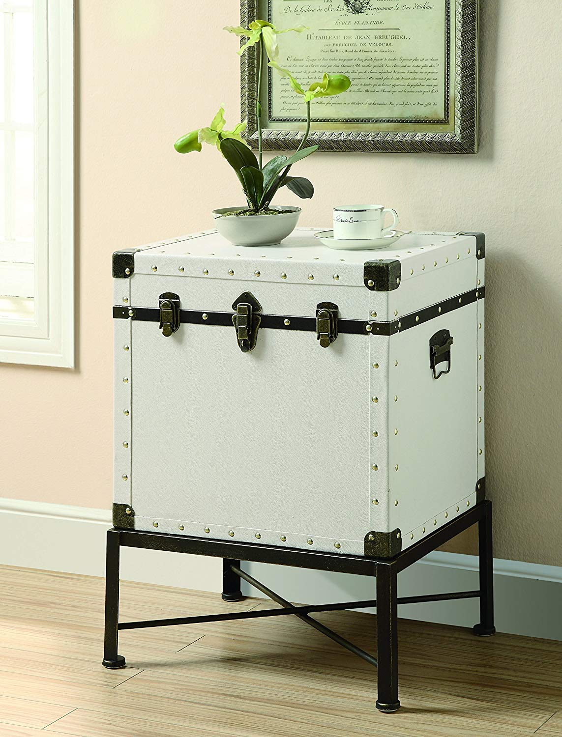 trunk style accent cabinet white kitchen dining table chest pottery barn marble mid century classic furniture pieces for your home ashley rustic coffee target threshold side