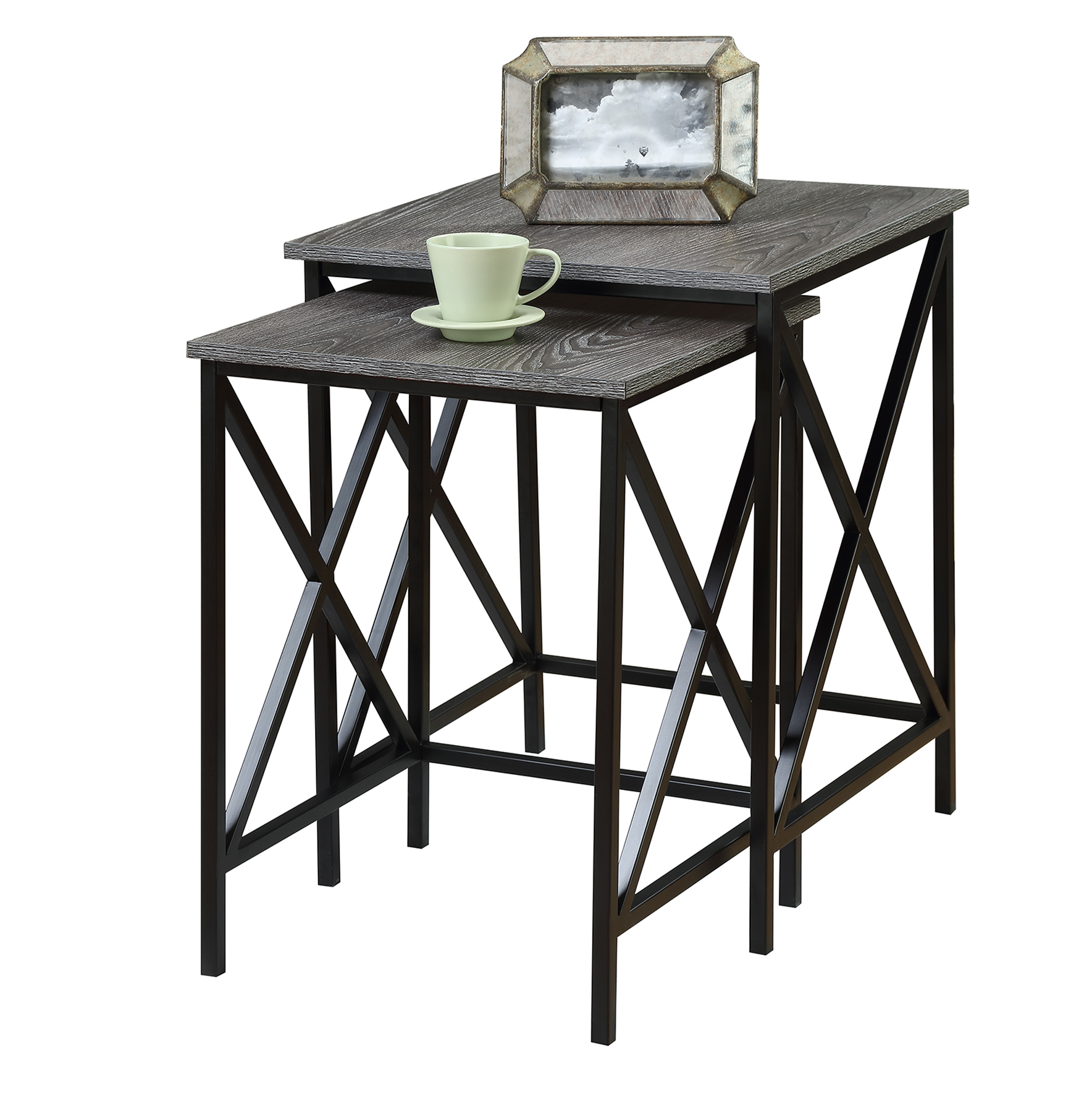 tucson nesting end tables inch high accent knurl round uttermost furniture patio table and chairs with umbrella coffee stools pottery barn occasional unique small plastic garden