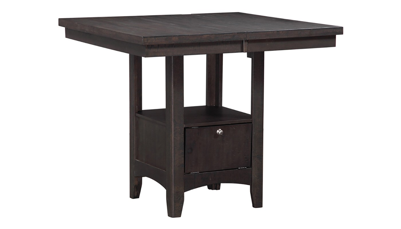 tulip counter height table home zone furniture dining room angle accent ikea boxes for cube storage antique marble top drum throne designer linens coffee end tables round pub and