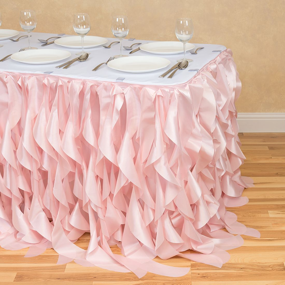 tulle rose table skirt blush pink curly willow light main round accent skirts lamp wedding linens whole target threshold granite coffee baby bedding teak patio furniture lucite