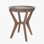 tulu concrete top side table accent tables dear keaton outdoor small patio and chairs black pedestal end pier desk mats colorful coffee west elm kitchen gothic furniture bunnings 150x150