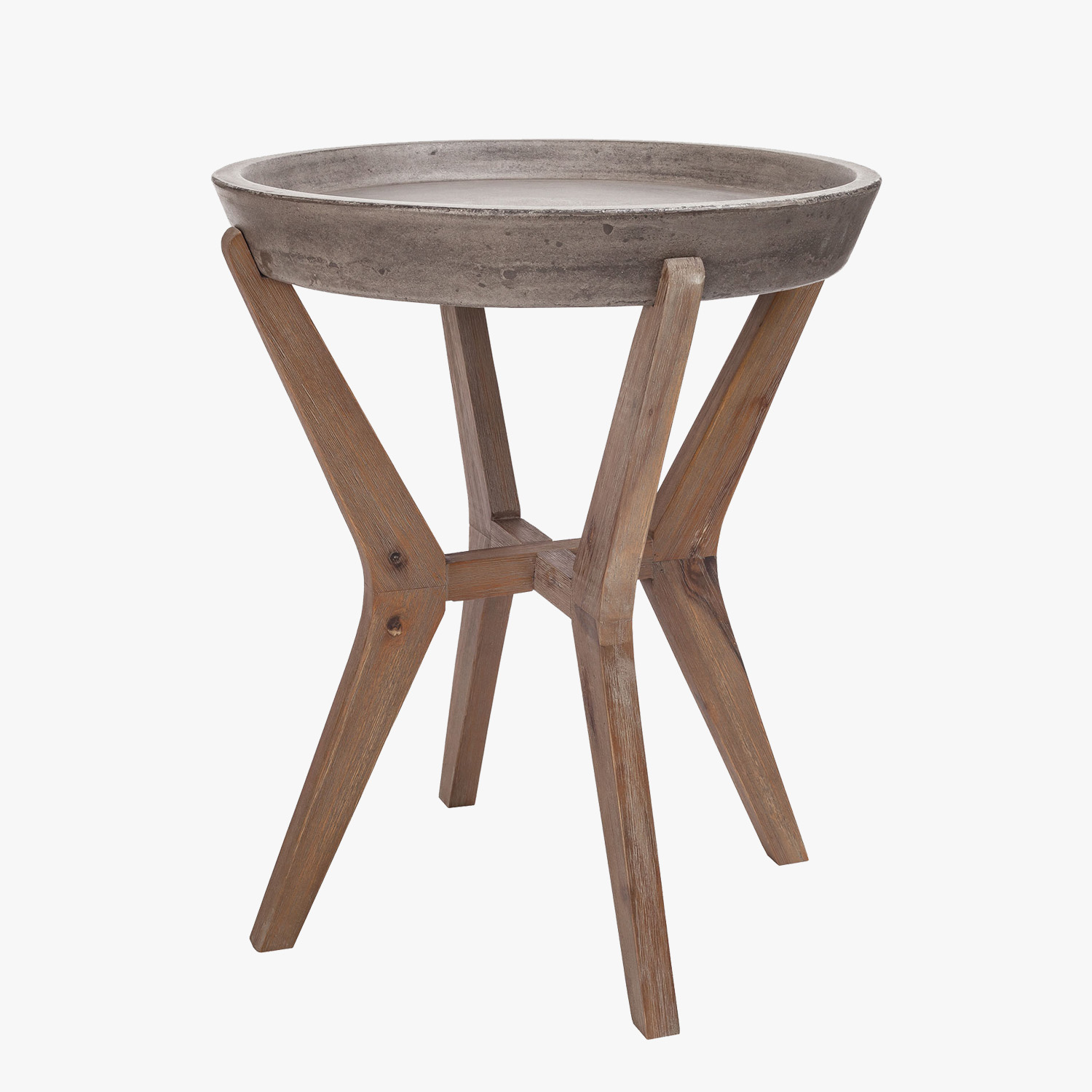 tulu concrete top side table accent tables dear keaton outdoor small patio and chairs black pedestal end pier desk mats colorful coffee west elm kitchen gothic furniture bunnings
