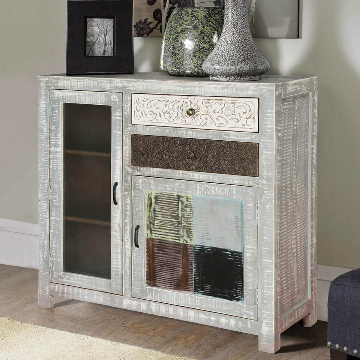 tures bathroom door wood and diy mirrored antique white mirimyn grey wall cabinets kitchen distressed gray accent painted cole cabinet small wine blue weathered swansboro corner