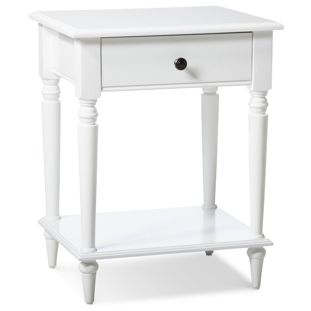 turned leg accent table threshold white products bath waste garden bench dorm necessities sei mirage mirrored dale tiffany ceiling lamps victorian style end tables tan leather