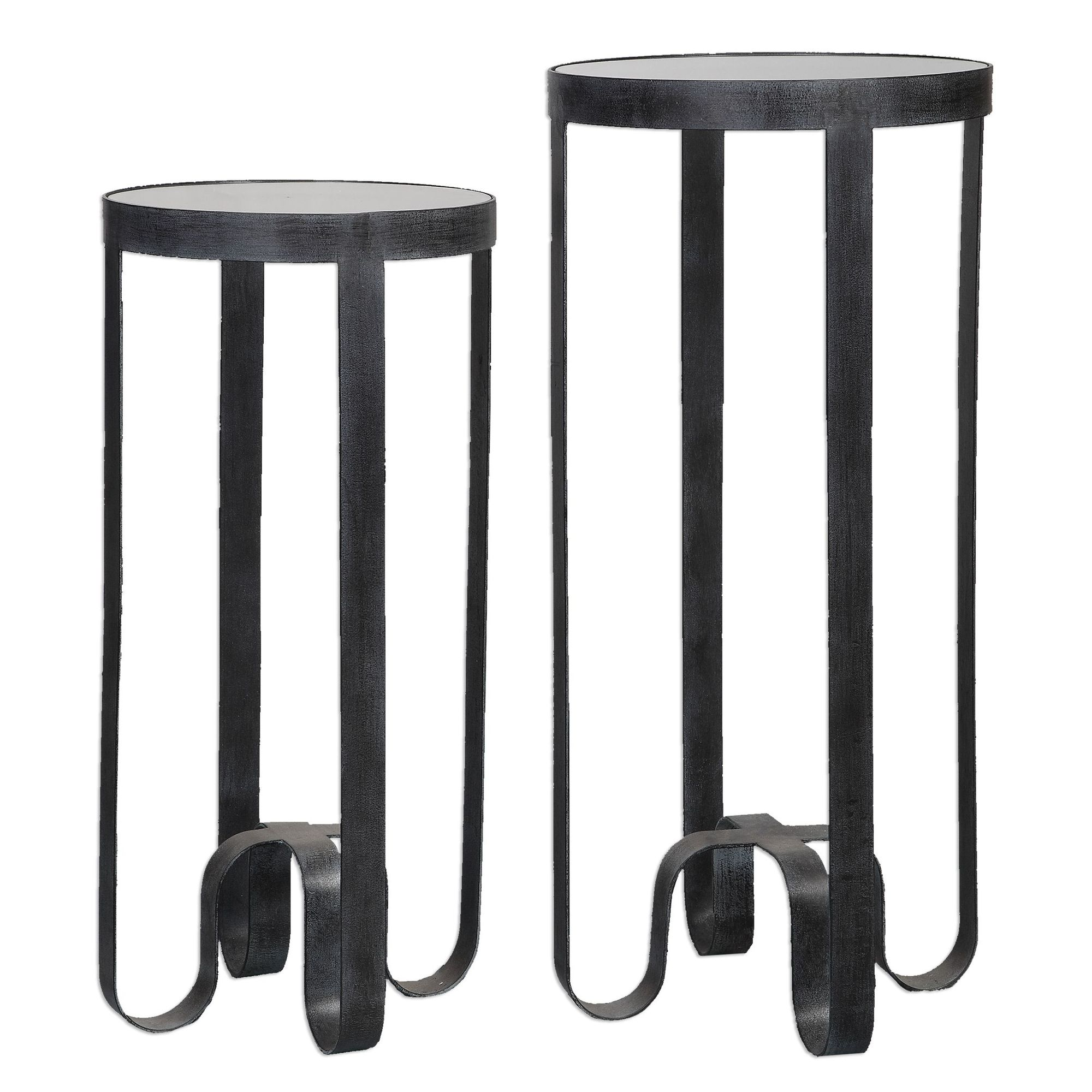 two piece round top accent tables espresso mathis brothers table outdoor patio lights modern night lamp jcpenney decorative pillows hairpin legs marble breakfast room decoration