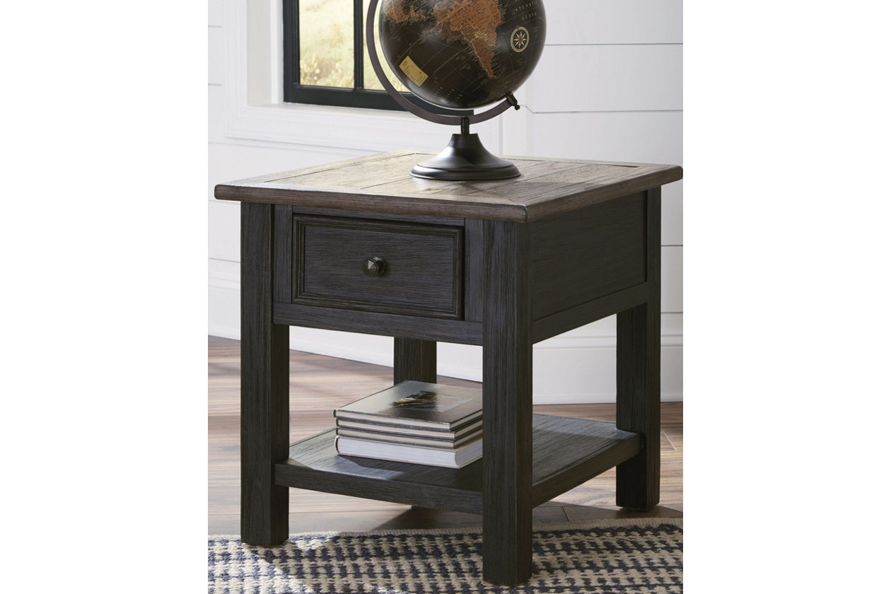 tyler creek end table ashley furniture home crop room essentials accent instructions patio covers round ikea lounge storage sofa decor ideas montreal tables christmas pottery mid