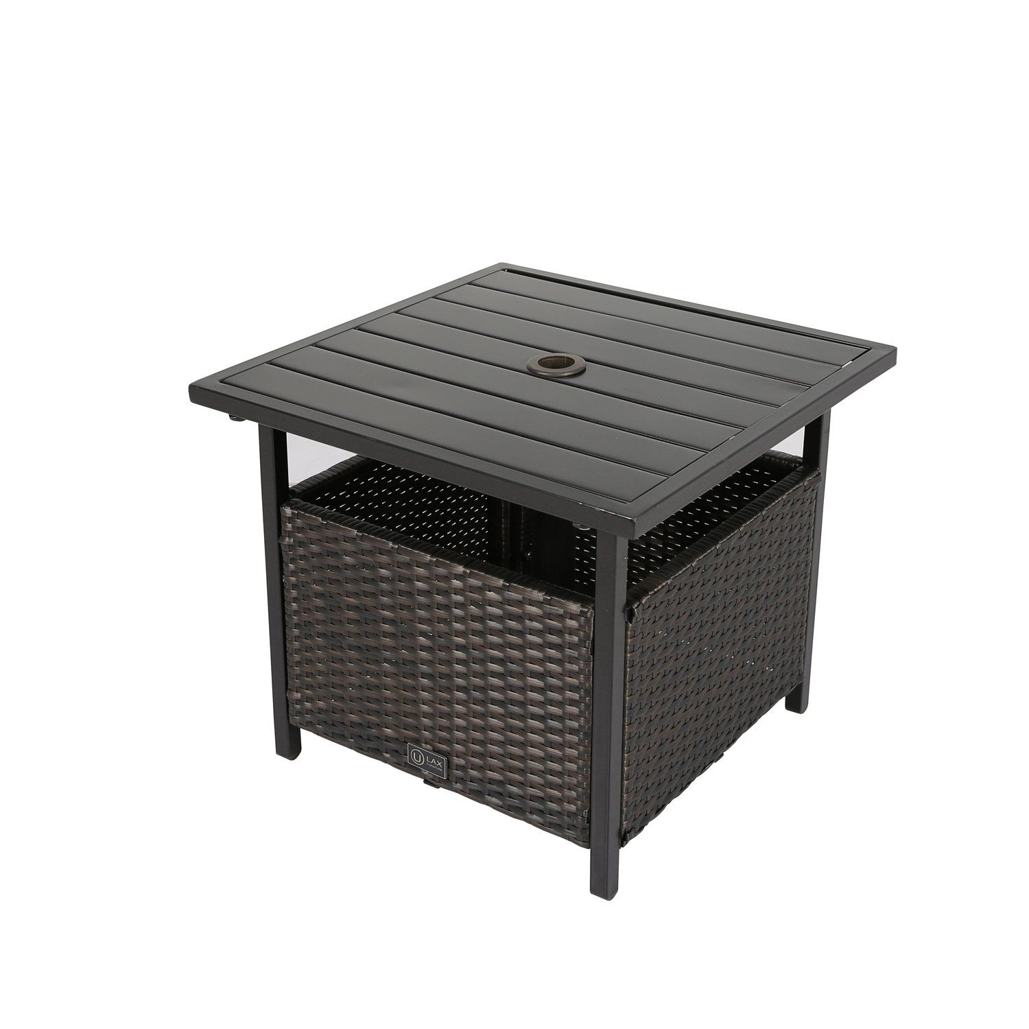 ulax furniture patio outdoor wicker umbrella stand bistro table side check out this great product affiliate link drawer cabinet large dryers tall with stools reclaimed wood corner