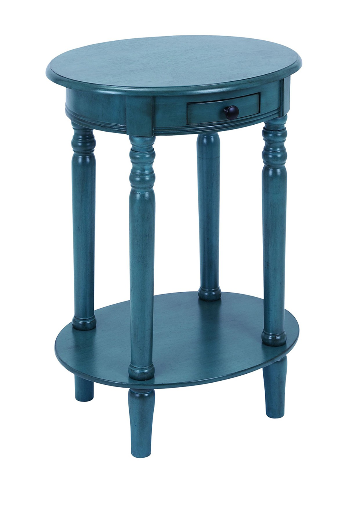 uma azul farmhouse accent table nordstrom rack wood kitchen sets inch high coffee country tables small pedestal side counter height dining set teen desk plate mat glass and metal