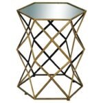 uma enterprises inc accent furniture metal mirror table products color furnituremetal target tripod lamp chairs from pier one imports shabby chic desk battery bedroom lamps extra 150x150