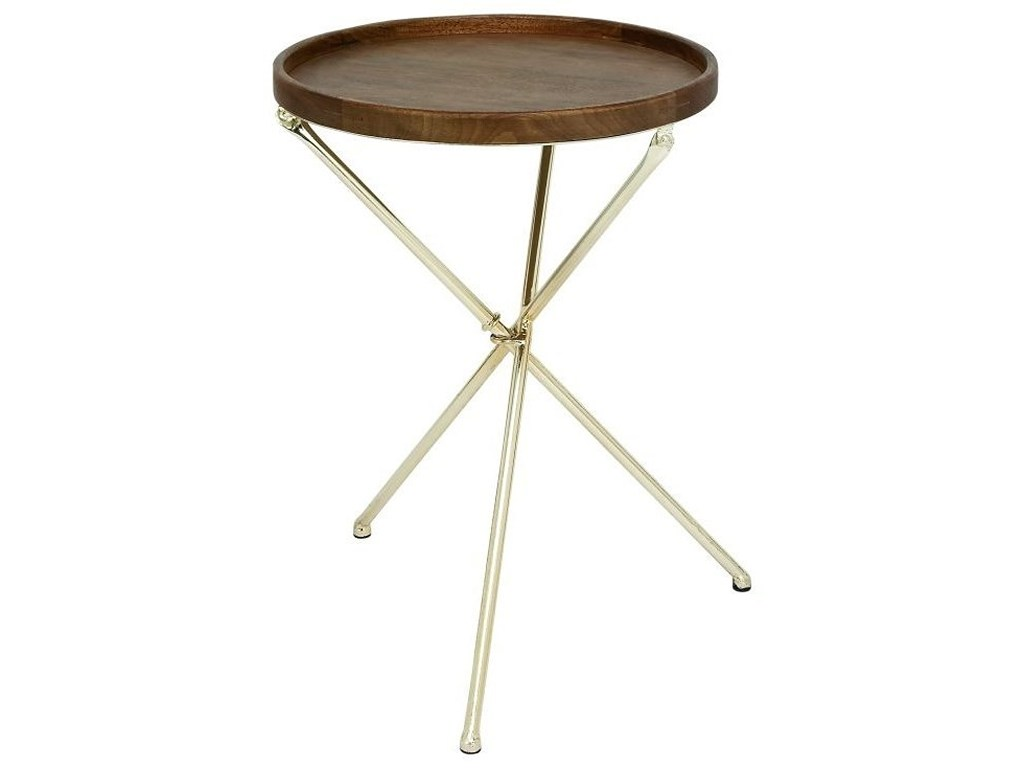 uma enterprises inc accent furniture metal wood tray table products color coffee target white lamp kitchen counter lamps indoor door mats structube short floor queen frame with