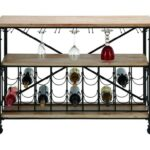 uma enterprises inc accent furniture metal wood wine rack table products color with furnituremetal double vanity small side storage style chairs outdoor patio and grey bedside 150x150