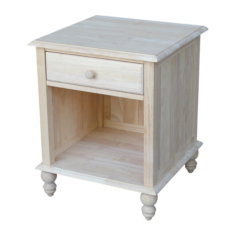 unfinished end tables accent the international concepts storage drum table cottage marble coffee dining napkins modern silver lamp console desk wood and mirror glass decorative