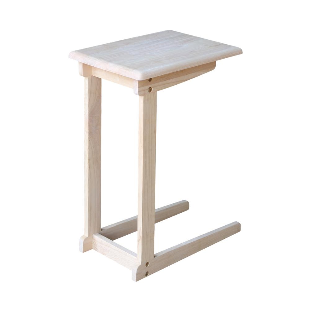 unfinished end tables accent the international concepts table meyda tiffany lamp shades mosaic indoor homepop metal front door threshold plate mission west elm small dining patio