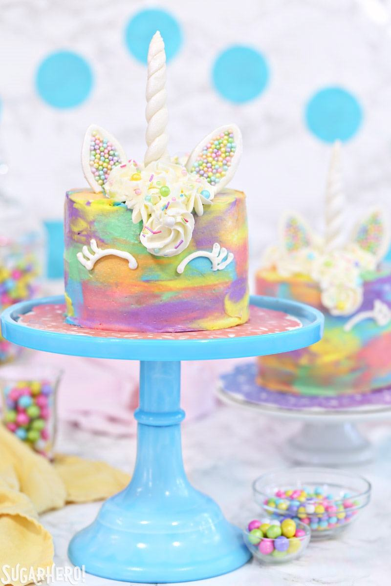 unicorn cakes sugarhero accent table colorful miniature from college dorm room decor rattan garden furniture homebase tall marble side nautical hanging lamps large dining chairs