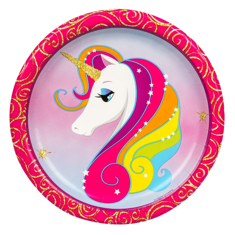 unicorn dollar tree inc accent table paper plates packs nautical hanging lamps half moon sofa versailles furniture globe lamp round outdoor unique end tables set living room pier