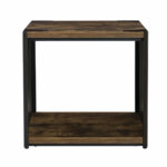 union rustic comet steel plate and wood end table reviews ifrane accent oversized comfy chair hampton bay outdoor furniture mirrored coffee wicker target nautical light fixtures 150x150