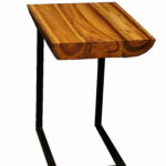 union rustic labarge teak end table reviews room essentials hairpin accent marble brass side ashley furniture bar baby white and wood pine legs mid century modern small entryway 150x150