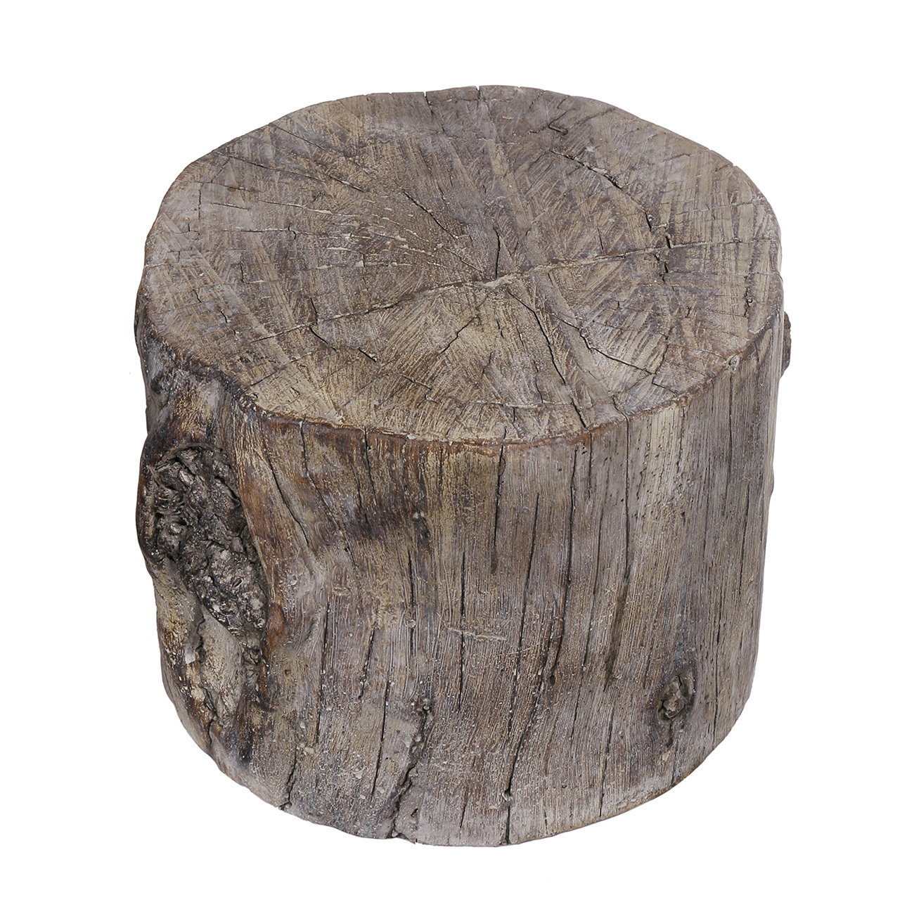 union rustic meier cement round tree stump accent stool wood table sofa dining room chairs edmonton small white patio modern decor ideas cute bedside lamps west elm industrial
