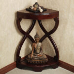 unique accent tables for living room small house interior design furniture corner espresso color paxton wooden table and buddha statue awesome using drawer not round foyer west 150x150