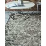 unique loom manchester indoor outdoor area rug transitional abstract light grey accent tables clearance free shipping today chesterfield chair cute nightstands antique side table 150x150