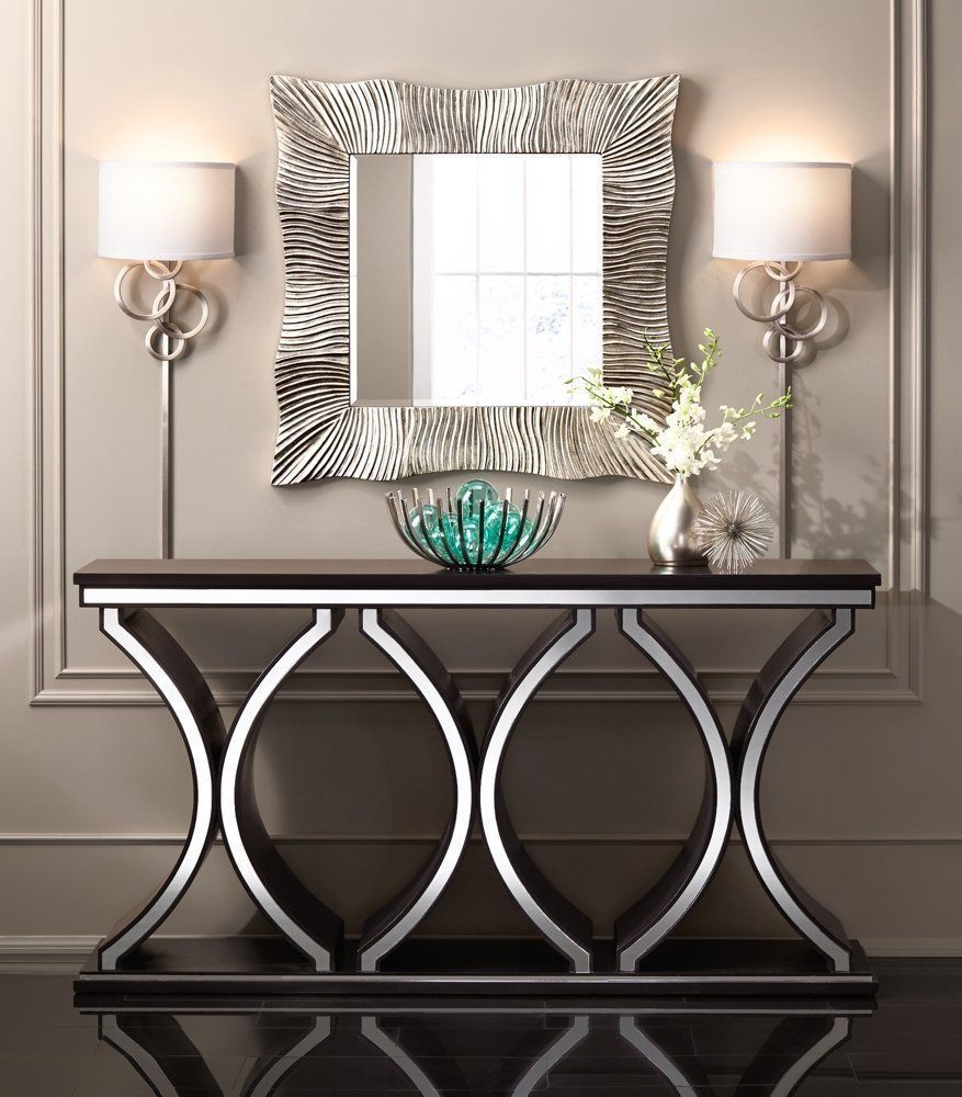 unique modern sofa console table accent mirrors and mirror home garden furniture tables black lamp leather sectional edmonton room essentials office chair farm style dining hobby