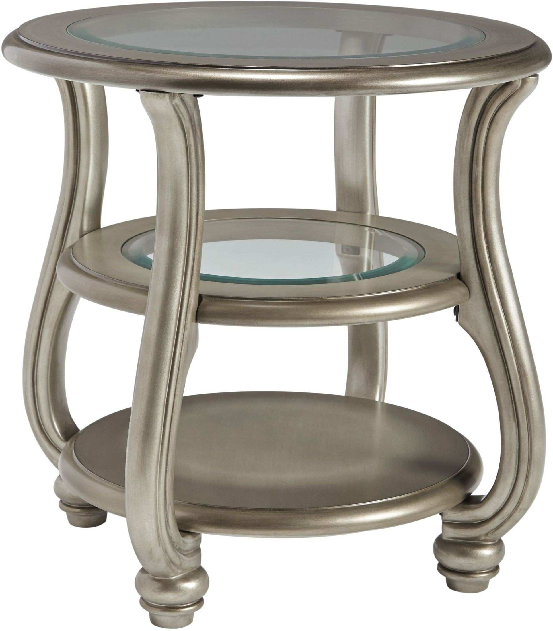 unique round silver accent table for steve gianna amazing coralayne end from ashley tall lamps living room area rugs house interior design ideas cherry side tables coffee decor