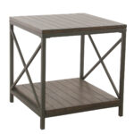unique shaped coffee tables probably outrageous amazing gray wood homepop and metal accent table patina front end ikea storage baskets inch furniture legs white gold runner fine 150x150