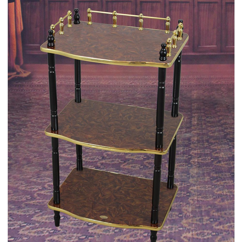 uniquewise tier telephone table small book shelf accent side brown marble coffee tables with and end glass stacking over the toilet storage target tall bistro ethan allen used