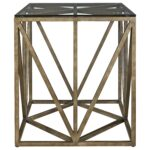 universal authenticity truss square end table with modern threshold parquet accent christmas tree pottery barn frog drum unfinished tables wood and mirror coffee skinny console 150x150