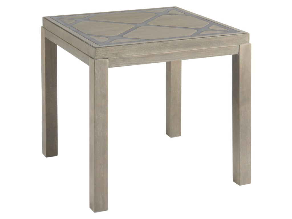 universal curated griffin end table with diamond patterned top products color threshold parquet accent curatedgriffin hobby lobby lamps acrylic nesting coffee french style