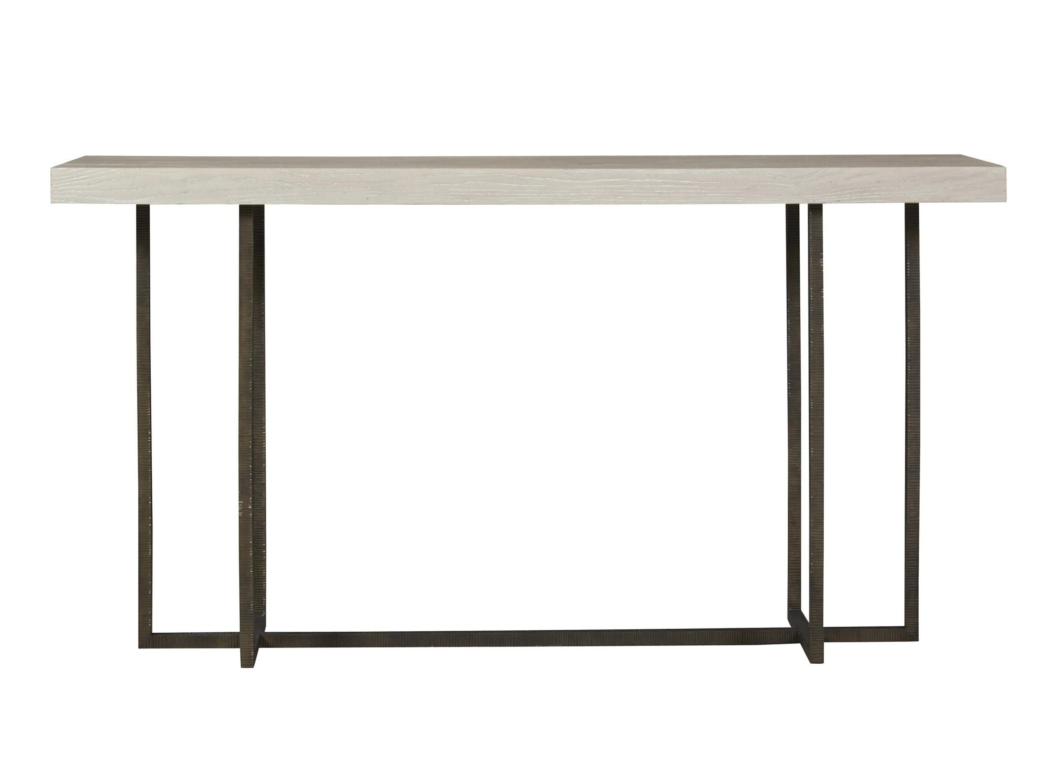 universal modern wilder console table hawthorne heights raised glass top accent bronze grey oak wood metal sofa zin home high corner nest furniture small for bedroom round coffee