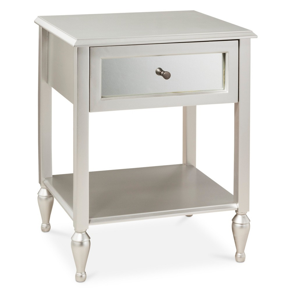 upc accent table hollywood mirrored side product for fully assembled dining chair design reclaimed wood console pottery barn footstool coffee country decorating ideas kids corner