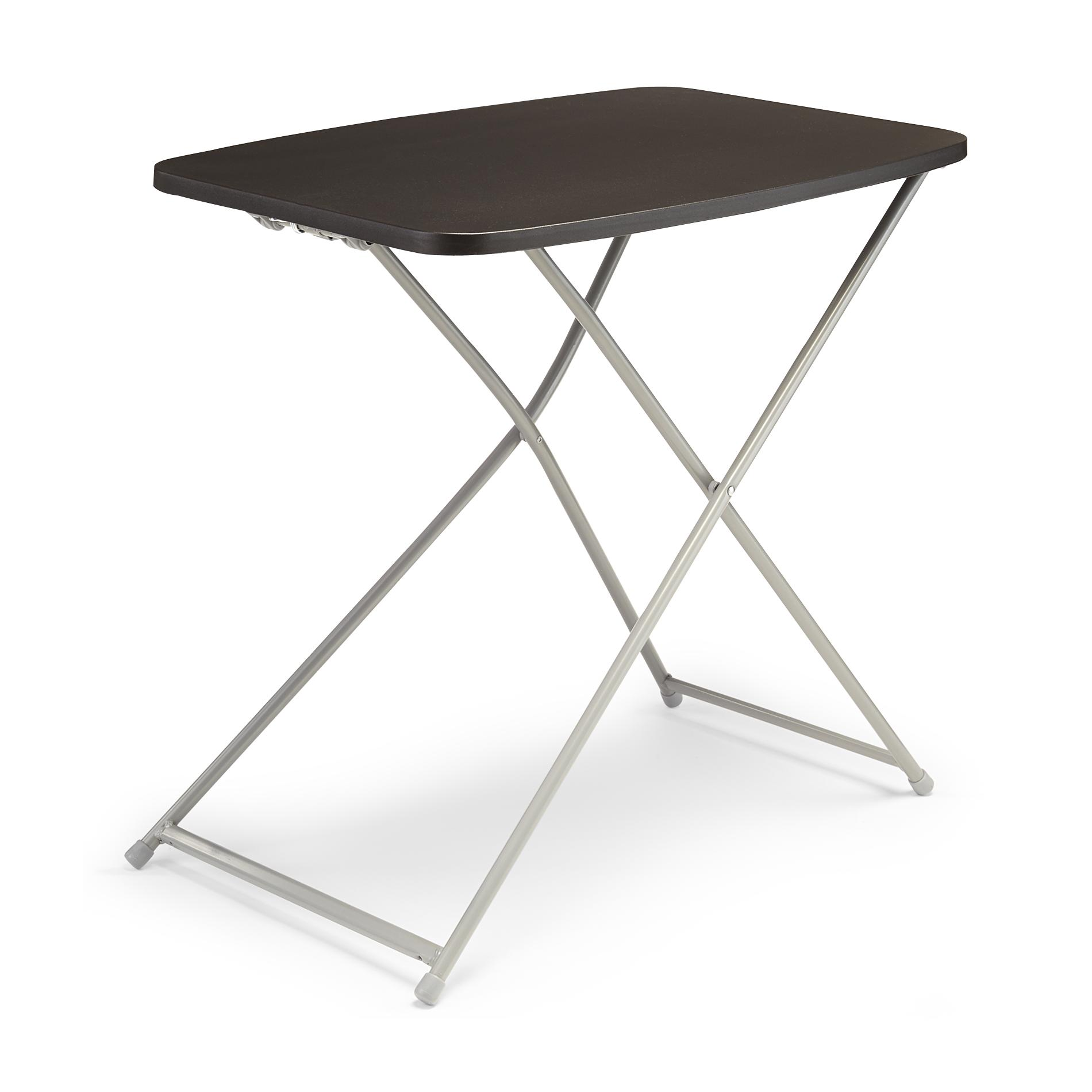 upc cosco home and office products black adjustable prod metal folding accent table product for green chair west elm coat rack glass pedestal chairs drop leaf with storage goods