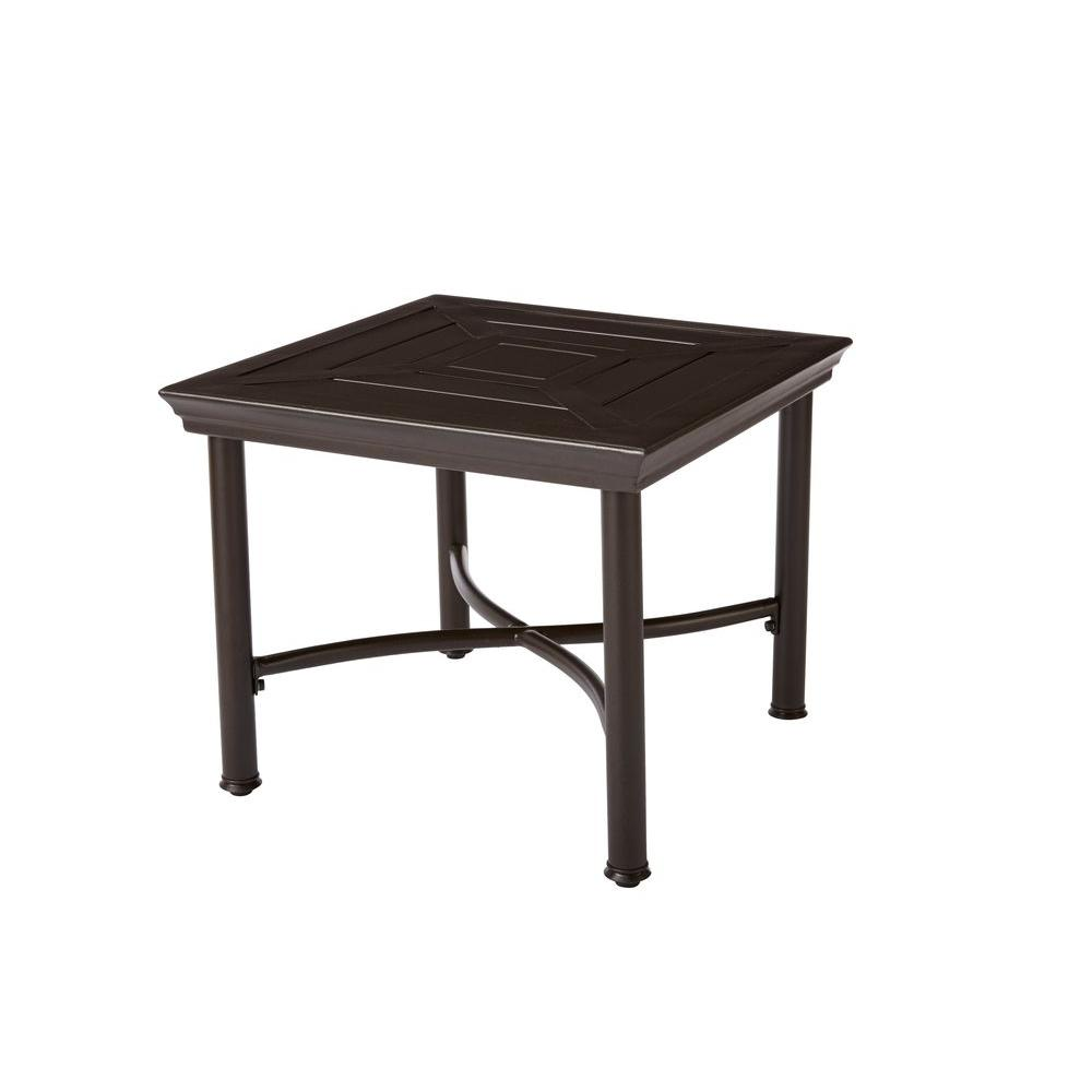 upc hampton bay middletown accent patio table product for upcitemdb round metal and glass end tables small target side wood with top occasional living room mid century dresser