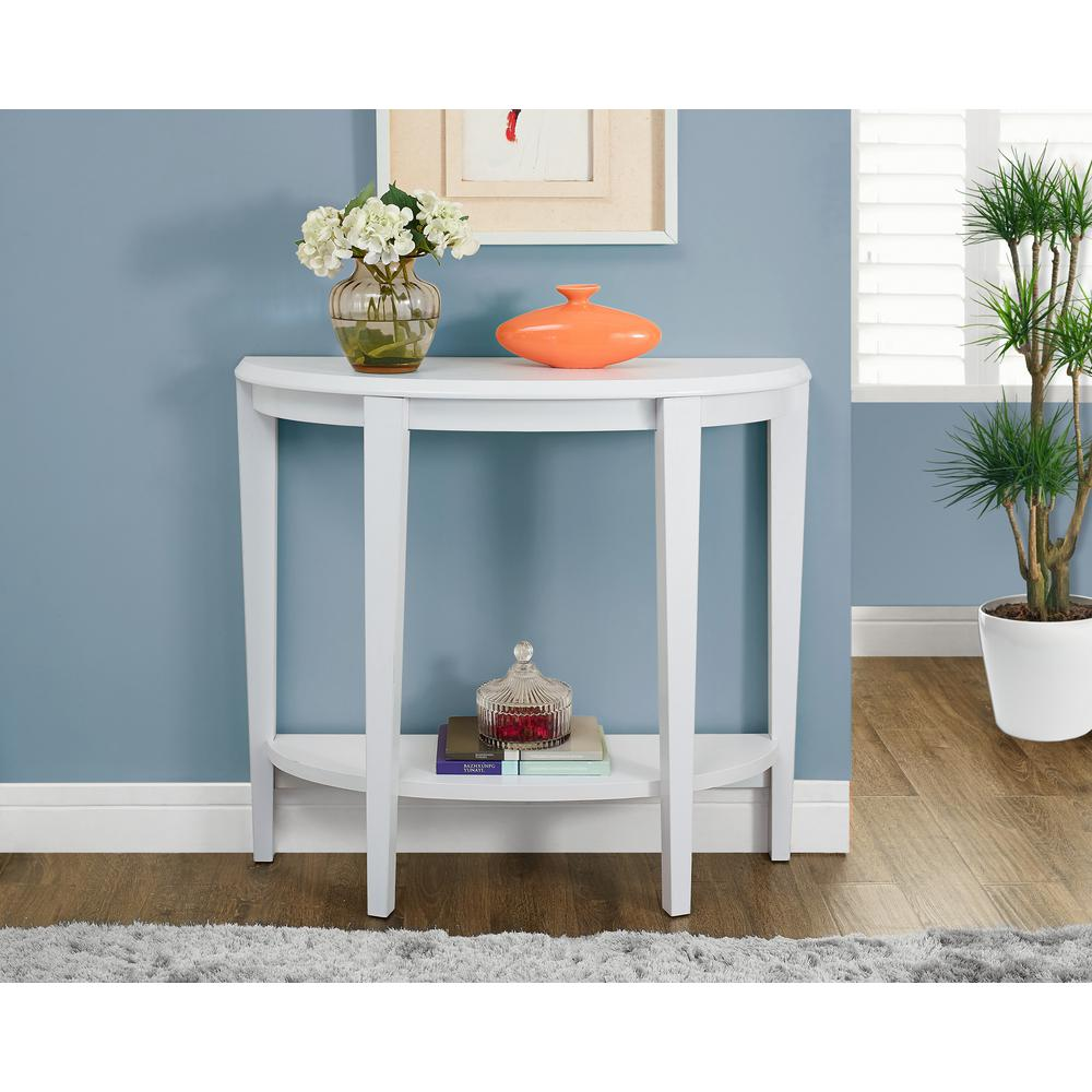 upc monarch inch console accent table white specialties tables hall upcitemdb black rug concrete and glass coffee bunnings garden seat next dining room furniture silver decor