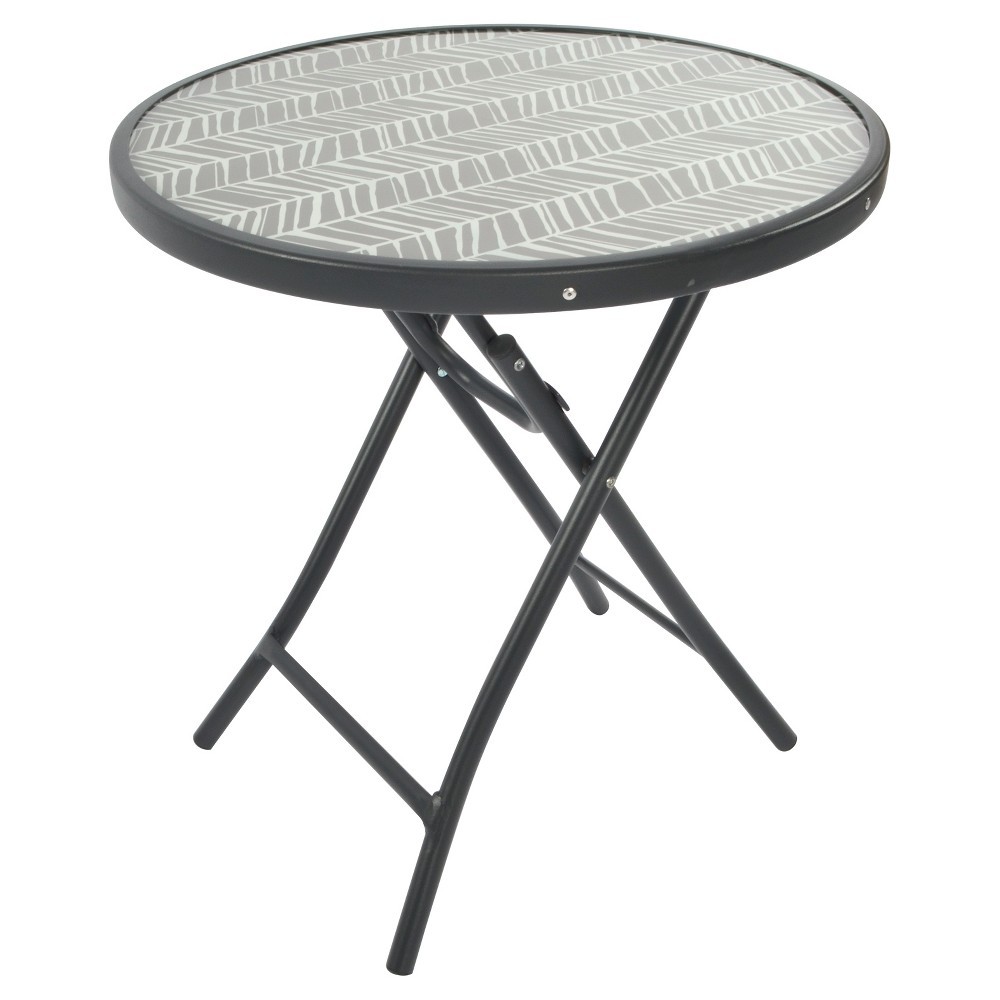 upc patio bistro table room essentials accent metal product for pattern standard end height keter beer cooler ethan allen kitchen ikea outdoor backyard gazebo corner lamp
