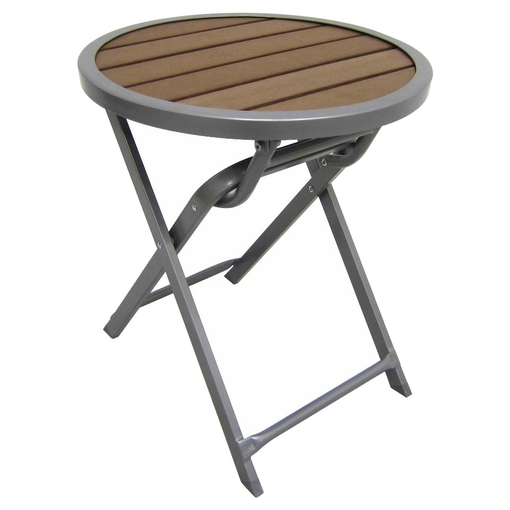 upc threshold bryant faux wood round accent table outdoor woven metal product for modern nest coffee tables small corner ikea kids desk bar top and stools ethan allen used