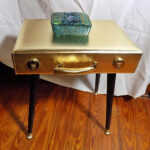 upcycled gold briefcase accent table purple lining wooden legs etsy fullxfull okgj structube coffee hobby lobby decorations vanity blue outdoor and chairs oval side with drawer 150x150